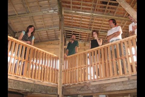 Amphis balcony